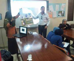 ندوة لنشر الوعي المائي لدى طلاب المدارس (صور)