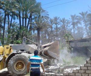 تنفيذ 25 قرار إزالة تعديات على أراضي زراعية بديروط في أسيوط