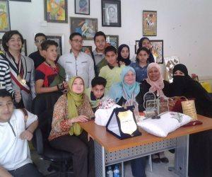 تفعيل أنشطة الموهبين بإدرة منشأة القناطر التعلمية