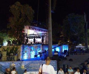 الجمهور يتوافد بأعداد كبيرة لحضور حفل راغب علامة بقرطاج (صور)