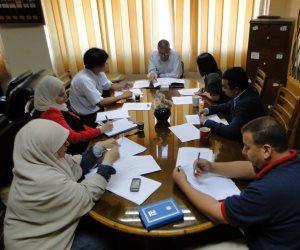 التوجيه المائي يناقش البرنامج التدريبي لدول حوض النيل مع خبراء يابانيين