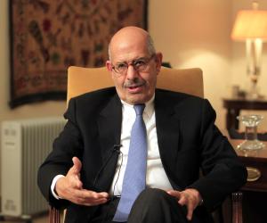 محمد البرادعي يدافع مجددا عن الإرهابيين والقتلة: انشروا «القتل» بلا رادع