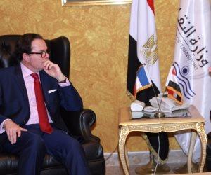 هشام عرفات: خطة شاملة لتطوير المترو بتكلفة 30,760 مليار جنيه (صور)