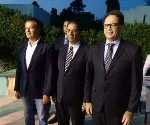 وزير الثقافة التونسى وراغب علامة يشاركان احتفالات السفارة المصرية بثورة يوليو