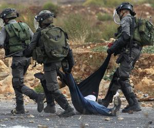 الاحتلال الإسرائيلى يعتقل 12 فلسطينيا من مناطق بالضفة الغربية