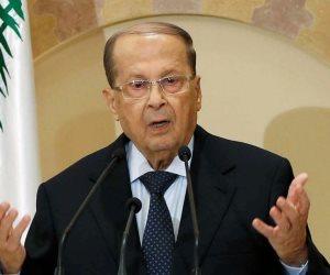 الرئيس اللبناني يدعو لعودة اللاجئين السوريين لبلدهم