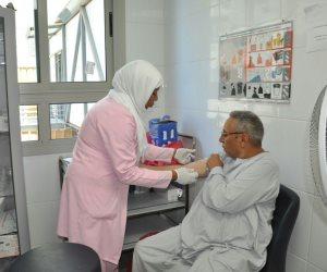 الكشف الطبي على 15 ألف مريض بفيرس سي بدمياط