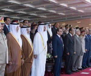 14 رسالة نارية للرئيس السيسي في افتتاح قاعدة «محمد نجيب» العسكرية
