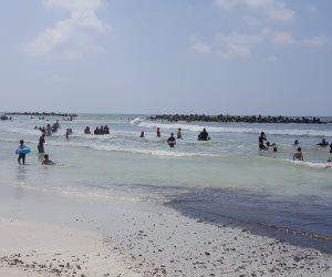 مسئولو شاطئ النخيل يحذر من الانسياق خلف الشائعات (فيديو وصور)