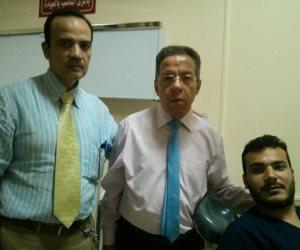 القبض على المعتدين على أطباء معهد ناصر تمهيدا للعرض على النيابة