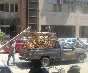 فى حملة مكبرة استمرت 3 أيام.. رفع وإزالة 705 حالة إشغال بشوارع مدينة أسوان