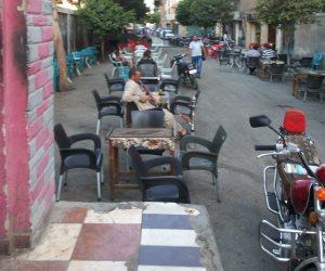 المقاهي تغزو سوهاج.. والأهالي يهجرون سكناتهم بسبب الضوضاء (صور)