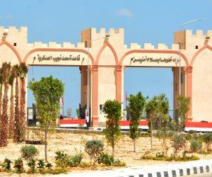 افتتاح قاعدة محمد نجيب العسكرية.. السيسي والقادة العرب يستعرضون صفوف القوات المسلحة