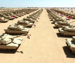 انطلاق تدريبات«النجم الساطع» بين مصر وأمريكا بقاعدة محمد نجيب العسكرية
