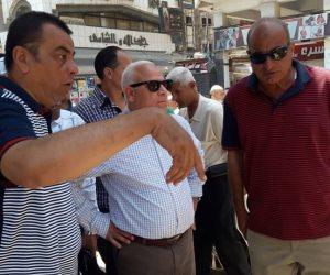 محافظ بورسعيد يوجه بالبدء في إقامة ميدان سعد زغلول