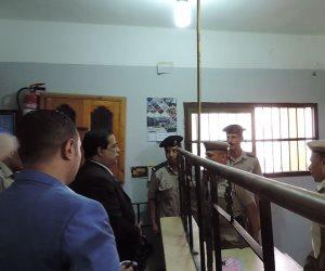 مدير أمن كفر الشيخ يتفقد الخدمات الأمنية
