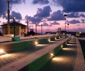 إطلاق إشارة البدء في تنفيذ منطقة البلازا البحرية بالممشى السياحي بالعلمين الجديدة (صور)