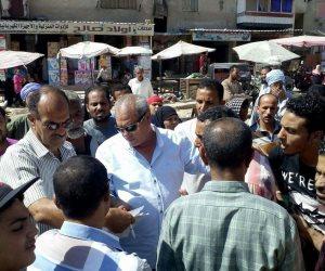 محافظ الإسكندرية: تسليم 316 باكية للباعة الجائلين بالعامرية أول (صور)