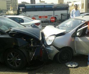 إصابة 6 أشخاص في حادث سير بطريق قنا الزراعي