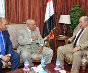 رئيس مجلس الدولة السابق يزور أبو العزم لتهنئته بمنصبه