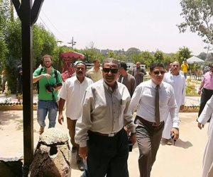 رئيس حي جنوب الجيزة في جولة بـ«جزيرة القرصاية» لمتابعة تطويرها (صور)