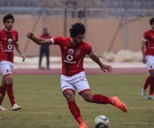 عمرو بركات يطالب الأهلي بالموافقة على إعارته إلى سموحة