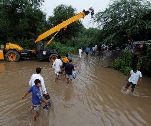 الفيضانات تودى بحياة 120 فى الهند وتضر بالصناعة ومحصول القطن
