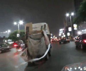 عربات «الكارو».. صداع في العاصمة