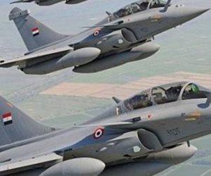 سيناء 2018 .. المتحدث العسكري: القوات الجوية تستهدف بؤرا واوكارا للعناصر الإرهابية بوسط وشمال سيناء