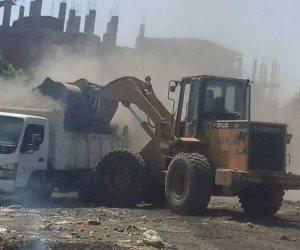 محافظ سوهاج: رفع ٢٧ طن تراكمات ومخلفات صلبة بمدينة المراغة ( صور )