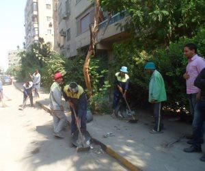 السكرتير المساعد للإسماعيلية يترأس حملة للنظافة العامة بمنطقة خلف مسجد الصالحين