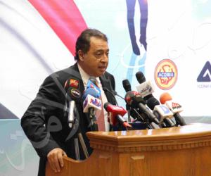 وزير الصحة يجري المسح الطبي لفيروس سي للعاملين بالعاصمة الإدارية الجديدة اليوم