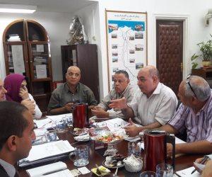 مناقشة مستجدات مشروع قناطر أسيوط الجديدة مع ممثلي بنك التعمير الألماني
