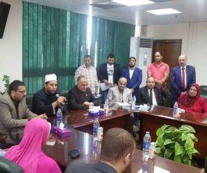 وزير الري يكرم الفائزين في مسابقة القرآن الكريم من أبناء الوزارة (صور)