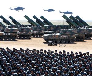 الجيش الصينى يبدأ أكبر مناورات عسكرية فى تاريخه