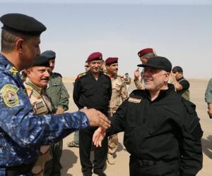 """حيدر العبادي: نفرض النظام ونعيد الانتشار في كركوك.. ولن نرحم """"داعش"""""""