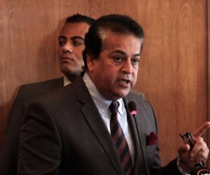 وزير التعليم العالي يدين الحادث الإرهابى بالعريش