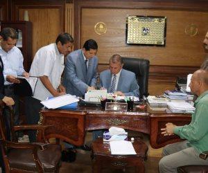 محافظ كفر الشيخ يعتمد نتيجة الدور الثاني للشهادة الإعدادية بنسبة 95.44% (صور)