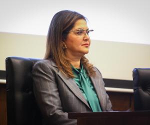 وزيرة التخطيط: قضايا المياة والشمول المالي والسكان أهم تحديثات أضيفت لاستراتيجية التنمية المستدامة