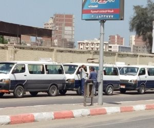 إضراب عدد من سائقي النقل اعتراضًا على رفع قيمة النولون بسوهاج