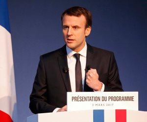 ماكرون: أمريكا وفرنسا وحلفاء آخرون سيكون لهم دور مهم بعد الحرب السورية