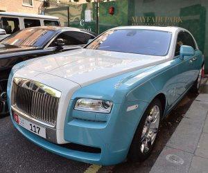 سيارات فارهة لأثرياء العرب تحتل شوارع لندن (صور)