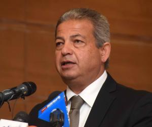 """وزير الشباب يفتتح معرض الابتكارات العلمية والفنون التشكيلية بختام مسابقة """"إبداع"""""""