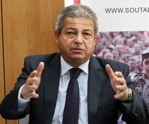 وزير الرياضة يشهد توقيع بروتوكول تعاون بين اتحاد السلاح المصري ونظيره الإيطالي