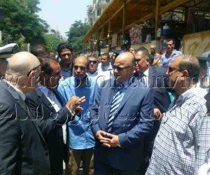 ضبط 170 طن أرز ودقيق وسكر فى حملات قادها مدير أمن القاهرة..(صور)