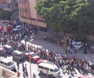 بلاغ سلبي بالعثور على قنبلة بمنطقة العجمي في الإسكندرية (صور)