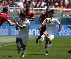 اهداف مباراة السوبر الاوروبي بين ريال مدريد ومانشستر يونايتد