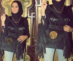 """""""دينا حسن"""" مصممة جلود تصنع الموضة المصرى بمواصفات عالمية"""
