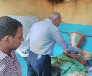 تحرير 35 محضرا تموينيا في حملة مكبرة على المخابز والمحال بالقليوبية