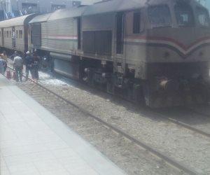 عطل فني بجرار قطار يتسبب في توقف حركة السكة الحديد بسوهاج